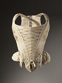 220px-Woman's_corset_figured_silk_1730-1740