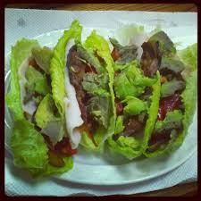 bacon lettuce wraps