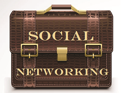Liza's briefcase Social Networking