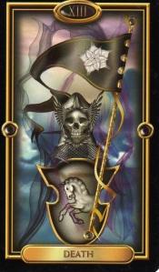 gilded tarot death