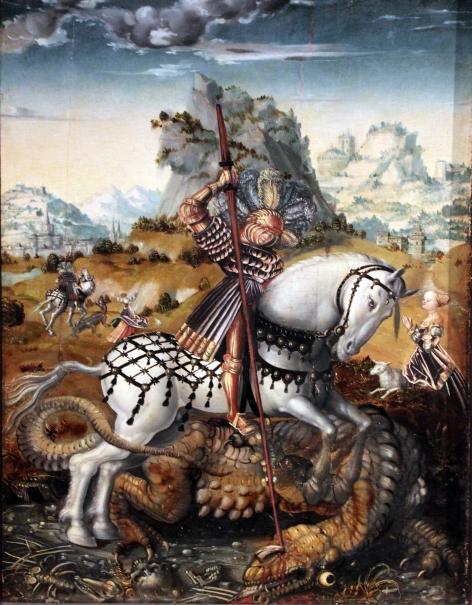 1512_Meister_des_Döbelner_George and the Dragon